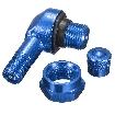 Szelep 90 fokos alu. kék (11,3mm)